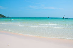 Пляж quoc Phu красивый стоковое изображение rf