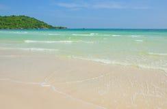 Пляж quoc Phu красивый Стоковые Изображения RF