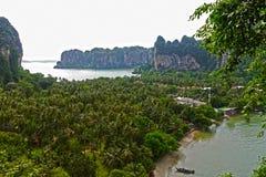 пляж railay Таиланд Стоковое Изображение RF
