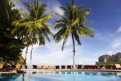 Пляж Railey в Krabi Стоковые Фотографии RF