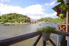 Пляж Ranh кулачка, Khanh Hoa, Вьетнам - 9-ое октября 2016 Стоковые Изображения