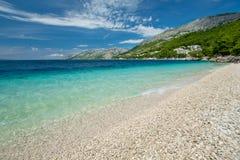 Пляж Rata плоскодонки Стоковое Фото