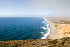 Пляж Reyes пункта стоковое изображение rf