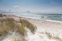Пляж Ristinge Стоковое Изображение