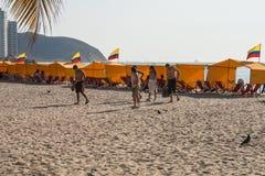 Пляж Rodadero Стоковое Изображение RF