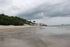 Пляж Sainoi стоковое изображение
