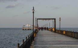 Пляж Samsun Atakum, Турция Стоковое Изображение