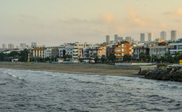 Пляж Samsun Atakum, Турция Стоковые Фото