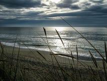 Пляж Sandnes, Норвегия стоковые изображения