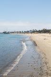 Пляж Santa Barbara Стоковая Фотография RF