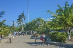 Пляж Santa Marta в Колумбии Стоковое Изображение