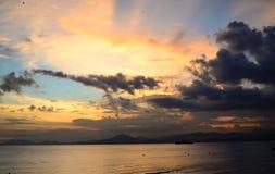 пляж sanya Стоковые Изображения