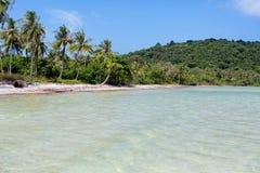 Пляж Sao Bai, остров Phu Quoc, Вьетнам Стоковое Изображение RF
