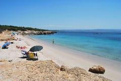 пляж sardinian Стоковая Фотография RF