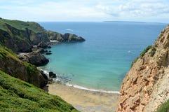 Пляж Sark Стоковые Фото