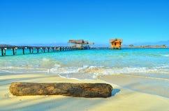 Пляж Saronde Стоковое Изображение RF