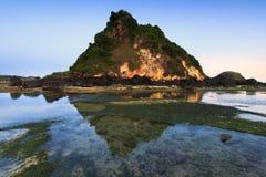Пляж Seger стоковые фотографии rf