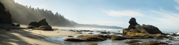 Пляж Shi Shi Стоковые Изображения RF