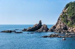Пляж Shiwaki стоковое фото rf