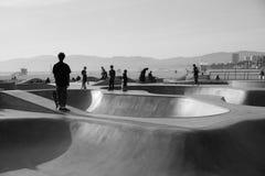 Пляж Skatepark Венеция стоковая фотография rf