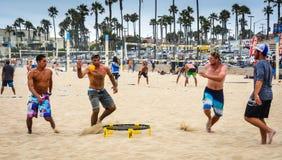 Пляж Spikeball Стоковое Изображение RF