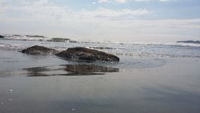 Пляж Stinson Стоковое фото RF