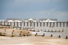 Пляж Sufflok Стоковые Фото