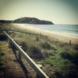 Пляж Taipa, далекий север, восточное побережье, Новая Зеландия. стоковая фотография rf
