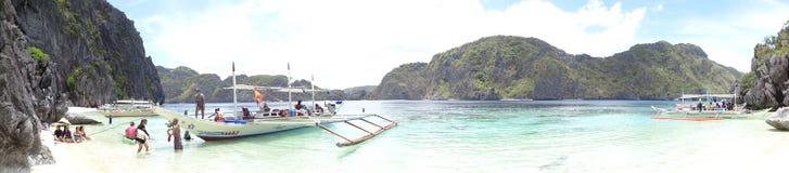 Пляж Talisay стоковые изображения rf