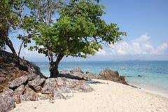 Пляж talu Koh Стоковая Фотография