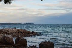 Пляж Tien Стоковые Изображения