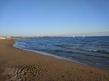 Пляж Titriyengöl стороны Антальи Manavgat Стоковая Фотография