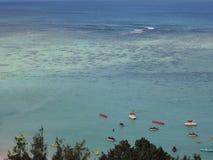 Пляж Tumon в Гуаме, Южной части Тихого океана Стоковое фото RF