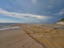 Пляж Tusan Стоковое Изображение
