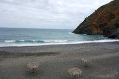 Пляж Vallehermoso Стоковое Фото