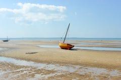 Пляж Vilanculos, Мозамбик Стоковые Изображения RF