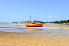 Пляж Vilanculos, Мозамбик Стоковые Фотографии RF
