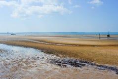 Пляж Vilanculos, Мозамбик Стоковая Фотография
