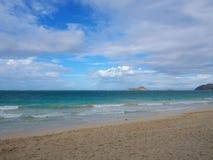 Пляж Waimanalo Стоковые Фото