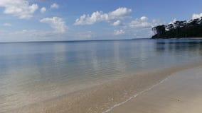 Пляж Wandoor, Port Blair, Индия Стоковое Изображение