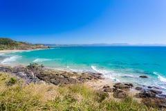 Пляж Wategoes, залив Байрона, NSW, Австралия Стоковые Изображения