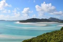 Пляж Whitsundays Whitehaven Стоковые Изображения RF
