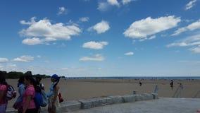 Пляж Woodbine Стоковые Изображения