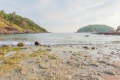 Пляж Yanui в Пхукете, Таиланде стоковые фото