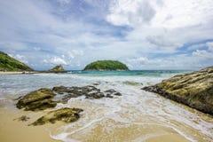 Пляж Yanui Пхукета Стоковое Изображение