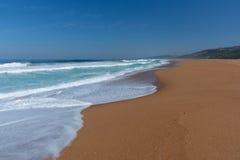 Пляж Zimbali стоковое изображение rf