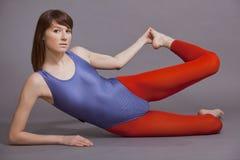 работает гимнастическое стоковое фото rf
