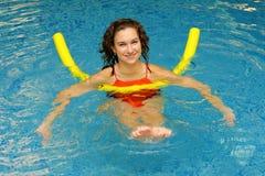 работает женщину воды Стоковое фото RF