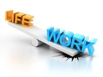 Работайте баланс жизни Стоковые Изображения RF