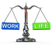 Работайте баланс жизни бесплатная иллюстрация